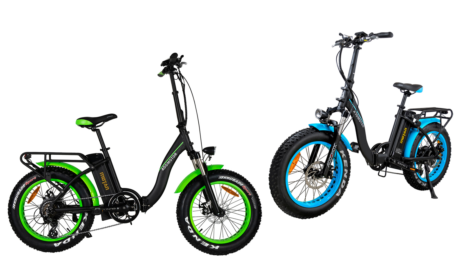 Motan M-140 P7 Foldable Electric Step-Thru Bike