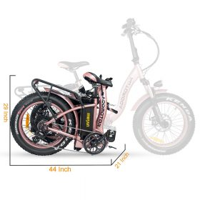 Motan M-140 P7 Foldable Electric Step-Thru Bike fold