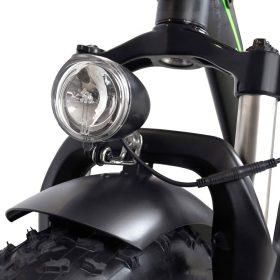Motan M-140 P7 Foldable Electric Step-Thru Bike front light
