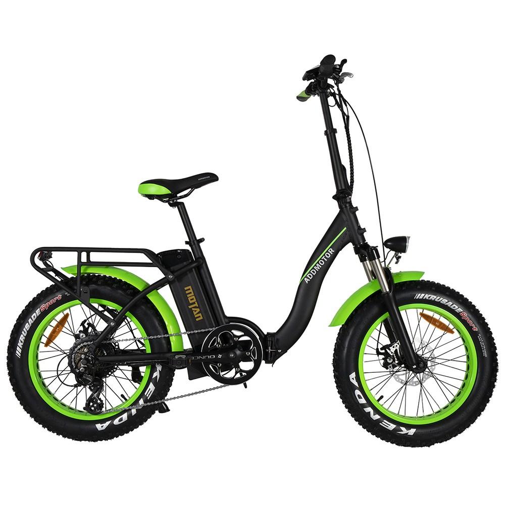 Motan M-140 P7 Foldable Electric Step-Thru Bike green