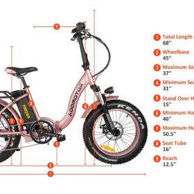 Motan M-140 P7 Foldable Electric Step-Thru Bike specs