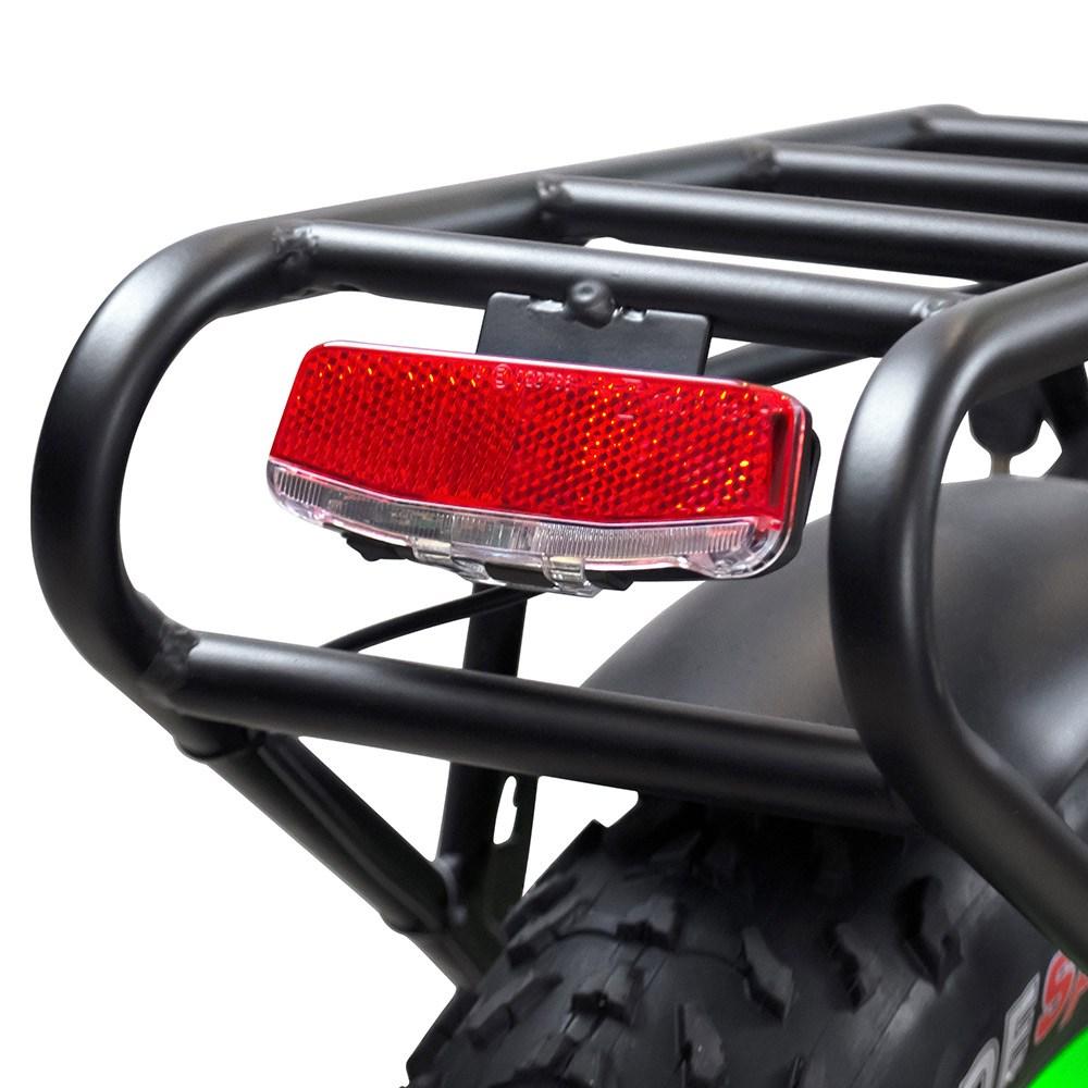 Motan M-140 P7 Foldable Electric Step-Thru Bike tail light