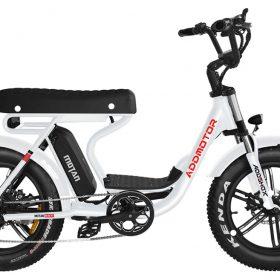 Motan M-66 R7 Step-Thru Electric Fat Bike white