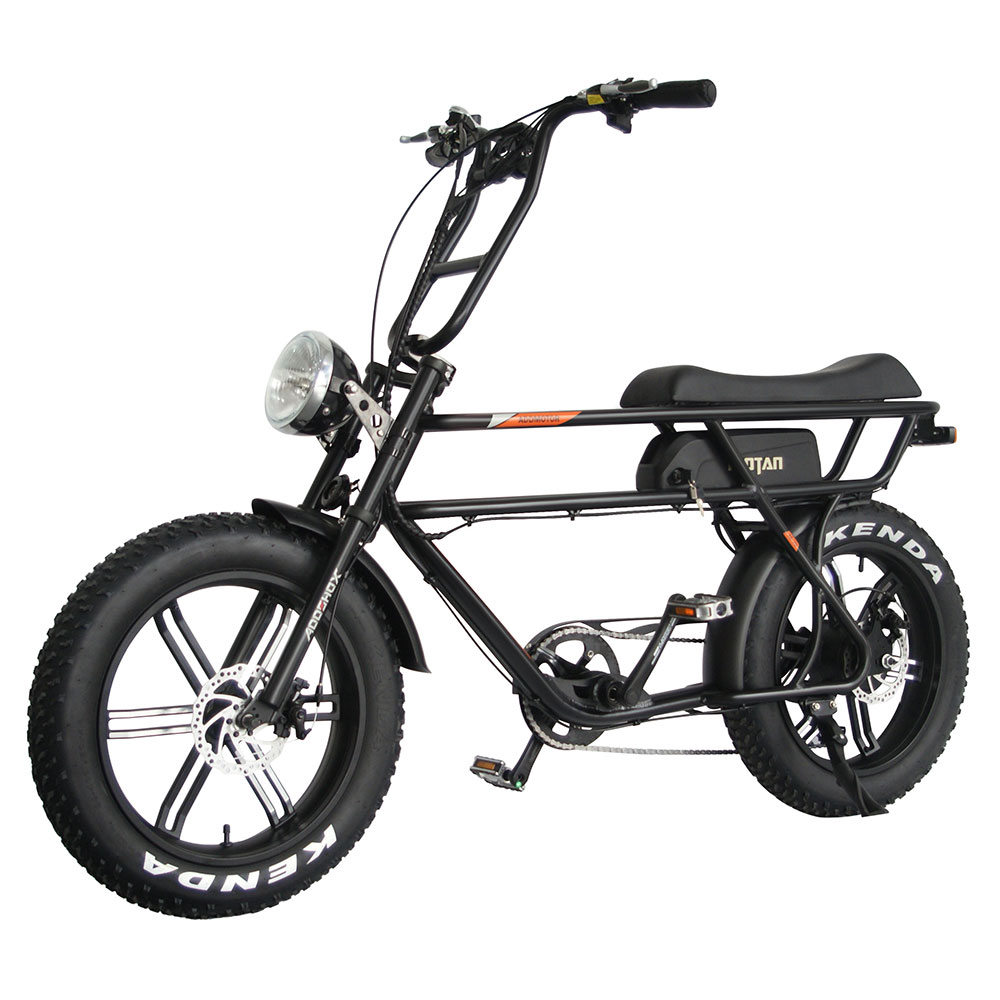 Motan M-70 Electric Beach Cruiser Bike black
