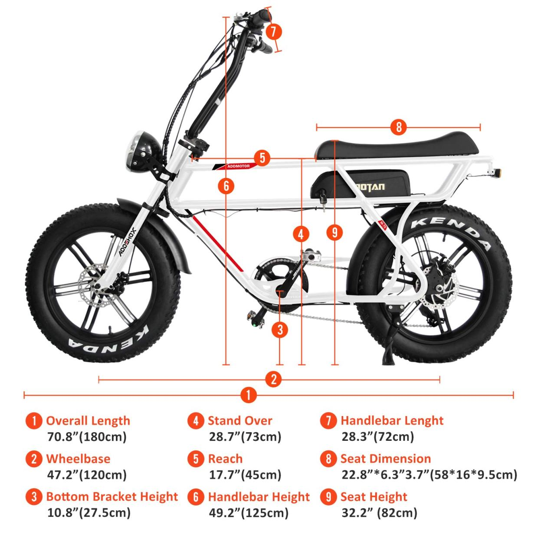 Motan M-70 Electric Beach Cruiser Bike specs