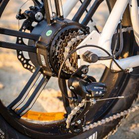 Motan M-70 Electric Beach Cruiser Bike wheel